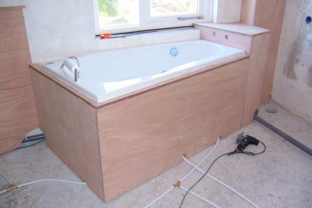 bad inbouwen
